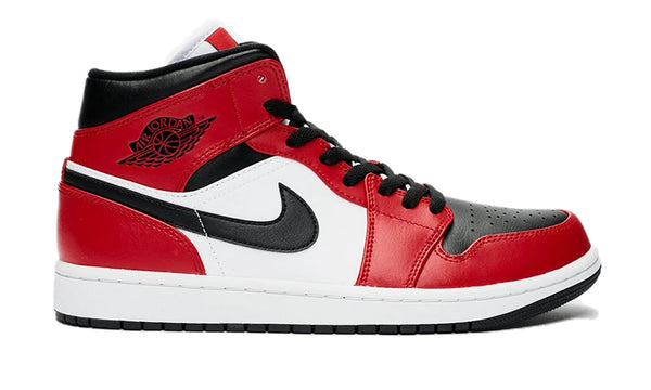 "Nike Air Jordan 1 Mid ""Chicago Toe"""