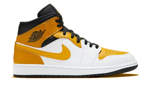 "Air Jordan 1 Mid ""University Gold"""