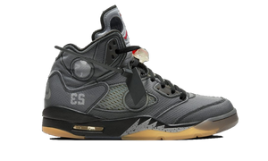 "Air Jordan 5 x Off-White ""Black"""