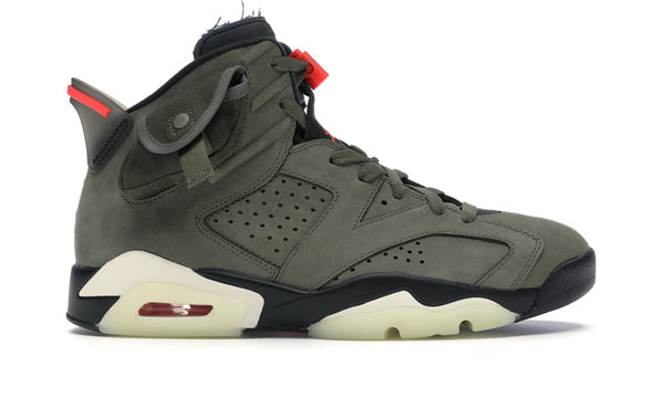 "Nike Air Jordan 6 x Travis Scott ""Cactus Jack"""