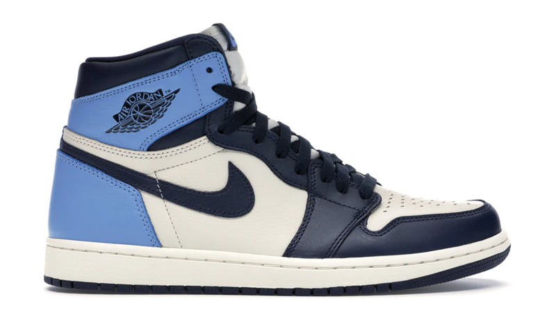 "Nike Air Jordan 1 High ""Obsidian UNC"""