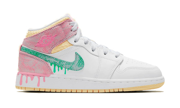 "Air Jordan 1 Mid ""Paint Drip"""