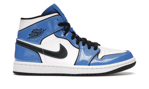 "Air Jordan 1 Mid ""Signal Blue"""