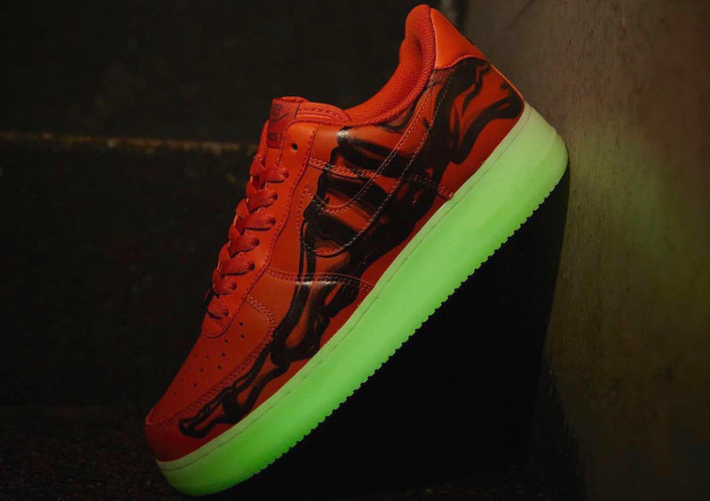 "Air Force 1 ""Orange Skeleton"""