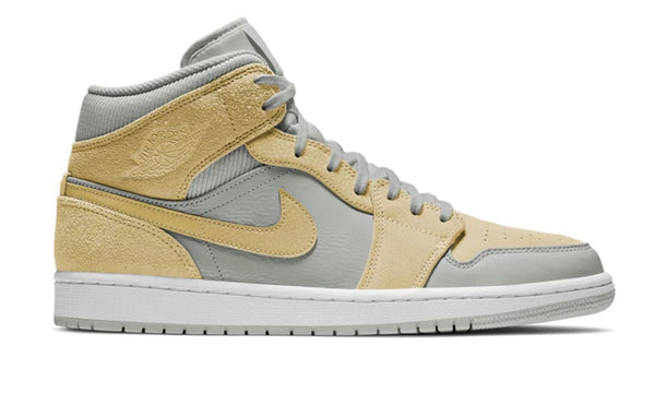 "Nike Air Jordan 1 Mid ""Yellow Textures"""