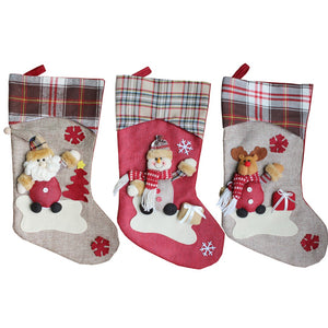 Santa, the Snowman, and Rudolph: A Christmas Stocking Story