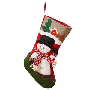 Merry Character Christmas Stocking