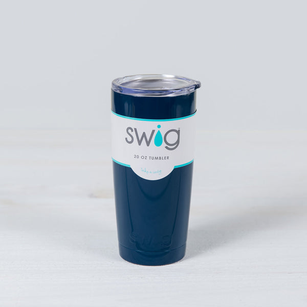 insulated 20 oz tumbler - navy
