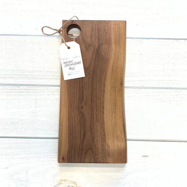 walnut wood serving board - rectangle