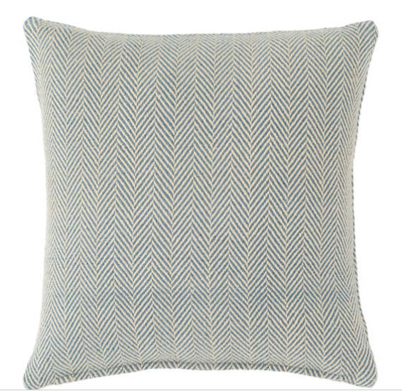 concord indoor/outdoor pillow - french blue