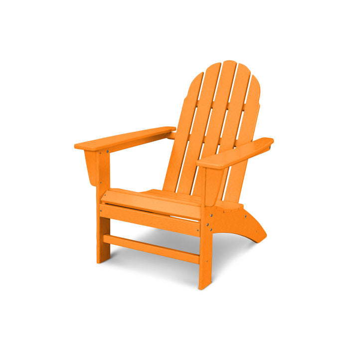 adirondack chair in tangerine