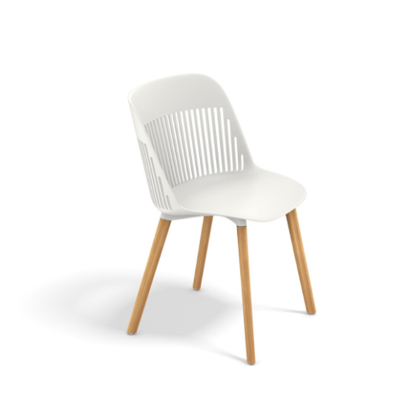 contemporary shell chair