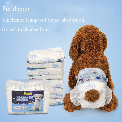10pcs Puppy Training Diapers - thediggitydogstore.com
