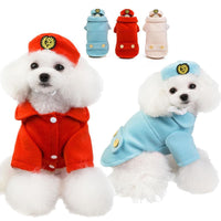 2019 New Winter Woolen Dog Coat With Adorable Hat. - thediggitydogstore.com