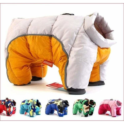 2019 Winter Dog Coat. Super Warm With Thick Waterproof Cotton. - thediggitydogstore.com