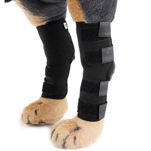 2Pcs  Dog Knee Joint Protector And Calf Brace Support - thediggitydogstore.com