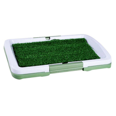 3 Layers Large Dog Potty Training Pee Pad Box With Turf - thediggitydogstore.com