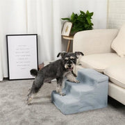 """3 Stairs To The Couch"" Small Dog Steps Get Your Pup Up On The Couch - thediggitydogstore.com"