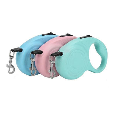 3M/5M Retractable Dog Leashes For Puppies & Small Dogs - thediggitydogstore.com