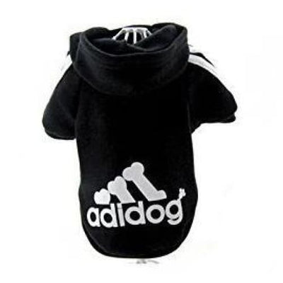 ADIDOG Hoodie for small dogs.  Adorable & Warm - thediggitydogstore.com