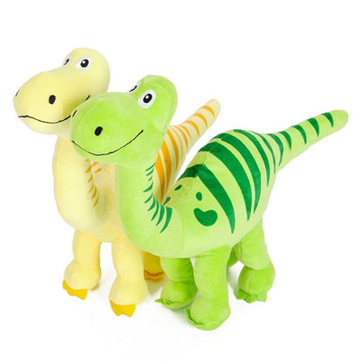 Adorable Dino Dog Squeaky Toy! Dogs Love Dinos's! - thediggitydogstore.com