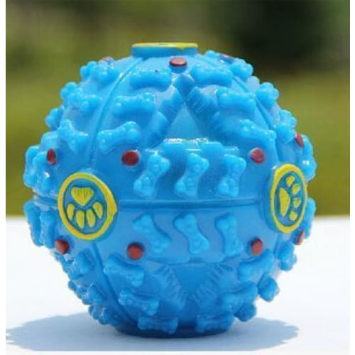 Automatic Rolling Treat Ball With Sounds - thediggitydogstore.com