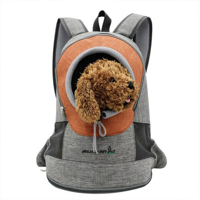 Breathable Front Backpack for Your Dog - thediggitydogstore.com