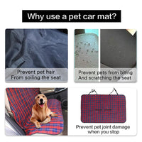 Car Seat Cover For Dogs Made Of  Durable Oxford Cloth - thediggitydogstore.com