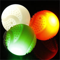Cool Light Up Ball USB Charged Made Of Silicone Safe For Chewing - thediggitydogstore.com