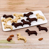 Dachshund Dog Shaped Ice Cube Tray - thediggitydogstore.com
