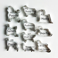 Dog Lover's Cookie Cutters, Oh Yes! - thediggitydogstore.com
