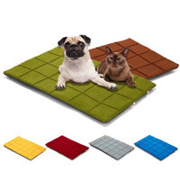Dog Mat Beds In Cool Colors, Soft & Non-Slip Back - thediggitydogstore.com