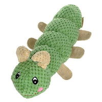 Dog Squeaker Worm Toy - thediggitydogstore.com