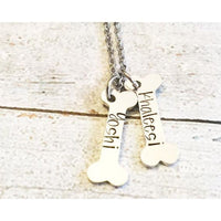 Dog tag - Hand stamped dog tag - Custom dog tag - - thediggitydogstore.com