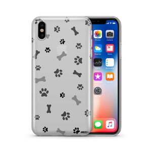 Doggy Treats - Clear TPU Case Cover - thediggitydogstore.com
