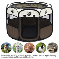 Dogs Portable Playpen - thediggitydogstore.com