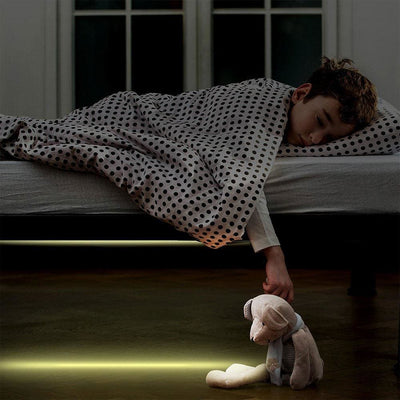 Don't Step On The Dog! Motion Sensored Under Bed LED Light. - thediggitydogstore.com