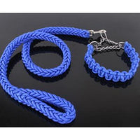 Eight-strand braided long dog leash nylon collars dog leash rope running chain for small medium large dogs traction rope pet - thediggitydogstore.com
