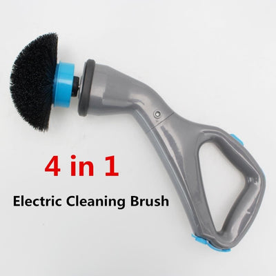Electric Cordless Scrubber Cleaning Brush For After Dog Bath - thediggitydogstore.com