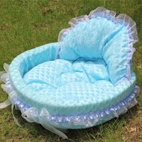 Froofy, Lacey Small Dog Bed S-L - thediggitydogstore.com
