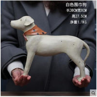Gorgeous Vintage Looking Dog Statuettes - thediggitydogstore.com
