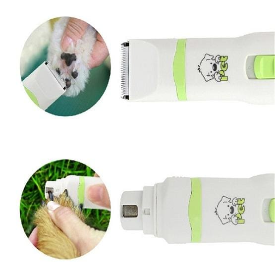 Hair Trimmer and Nail Grinder for Dogs - thediggitydogstore.com