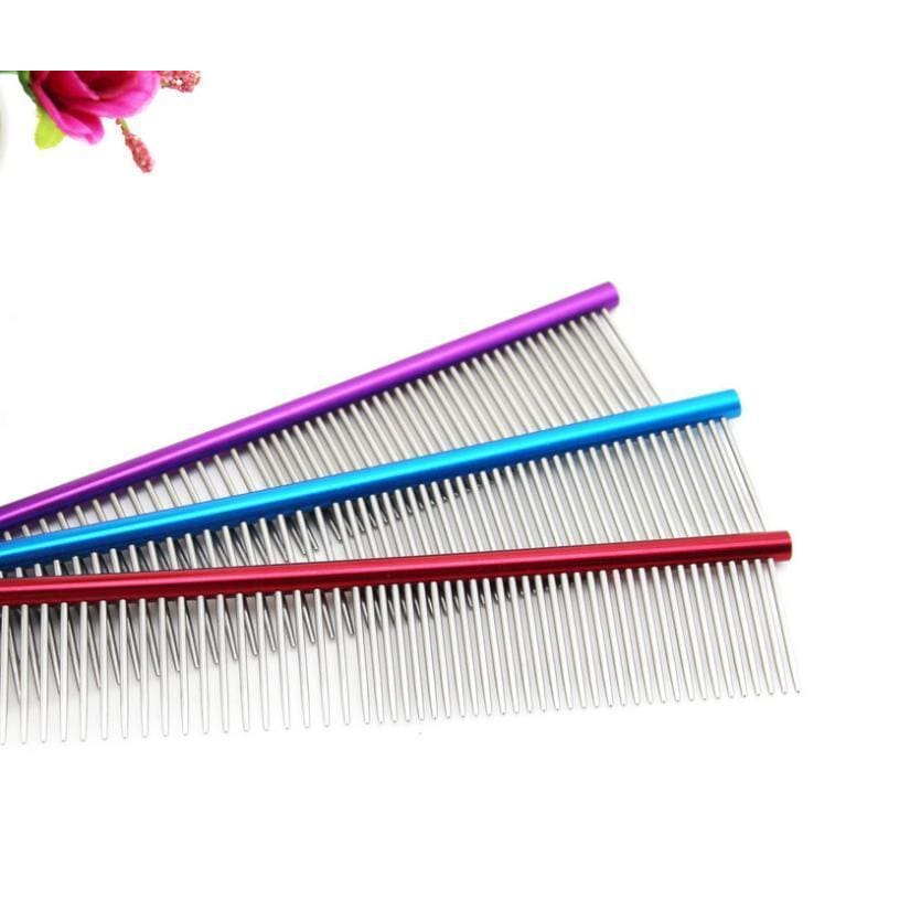 High Quality Professional Steel Grooming Comb - thediggitydogstore.com
