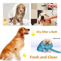 Hot Dog Dryer Makes Dog Drying Fast and Easy After A Bath S M L - thediggitydogstore.com