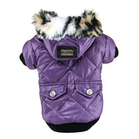 Hot Sales Dog Winter Warm Coat Pets Faux Pockets Cat Puppy Hoodie Jacket Costumes Clothes XS-XXL - thediggitydogstore.com