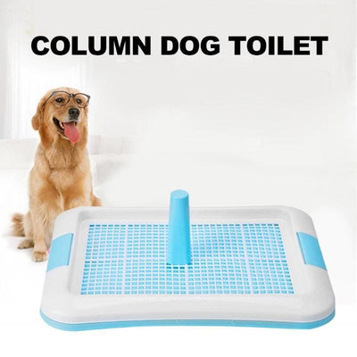 Indoor Dog Toilet With Pee Post - thediggitydogstore.com