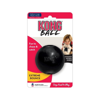 KONG Extreme Ball Dog Toy S/M-L - thediggitydogstore.com