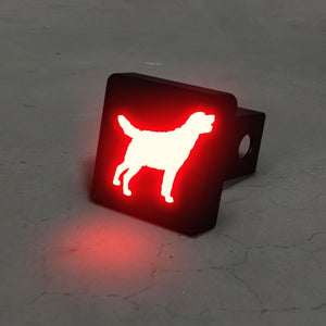 Labrador Retriever LED Brake Hitch Cover - thediggitydogstore.com
