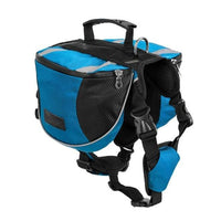 Large Dog Backpack. Adjustable & Reflective. - thediggitydogstore.com
