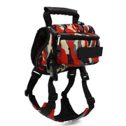 Large Dog Travel Backpack Harness. Great For Hiking & Camping Saddle Bags. - thediggitydogstore.com